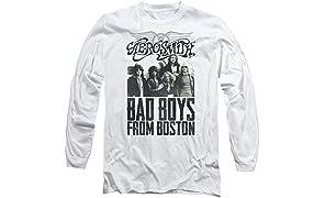 Aerosmith - Bad Boys From Boston Adult Long-Sleeve T-Shirt - XL