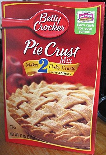 Betty Crocker Pie Crust Mix 2-pack! Each 11 Ounce Box Makes 2 Pie Crusts