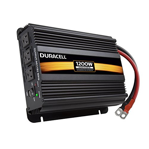 Duracell Power DRINV1200 Black Inverter product image