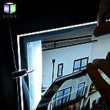 A3 Landscape Crystal Acrylic Led Backlit Real