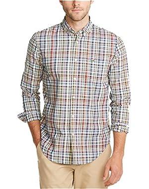 Men's Regular Fit Long Sleeve Shirt