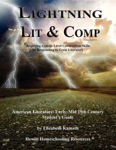 Lightning Lit & Comp: American Lit Early-Mid 19th Century 3rd Edition (Lightning Lit & Comp)