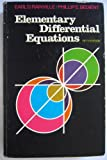 Elementary Differential Equations, Earl D. Rainville and Phillip E. Bedient, 0023977205