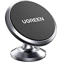 UGREEN Car Phone Holder Magnetic Dashboard Mobile Mount Dash Stand Compatible for iPhone 12 11 Pro Max SE XR XS X 8 7 6…