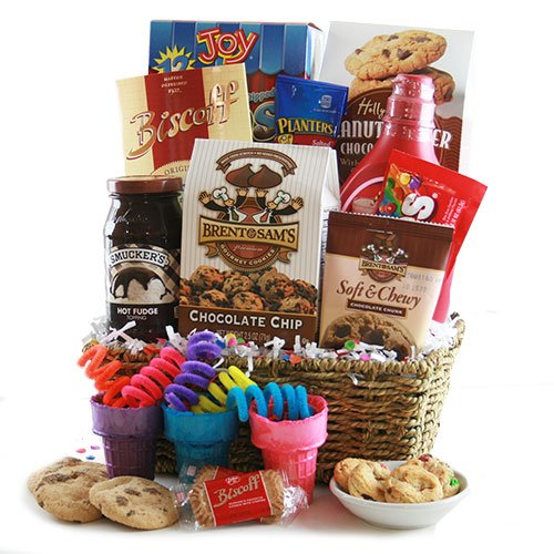 Ice Cream Social Ice Cream Gift Basket