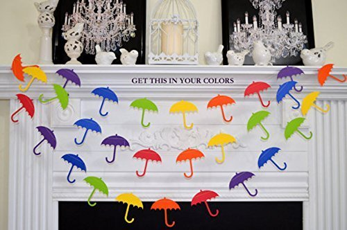 Amazon Umbrella Garland Shower Decorations Baby Shower Bridal