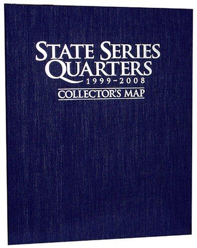 State Album Whitman Quarter (State Series Quarter Map, Blue)