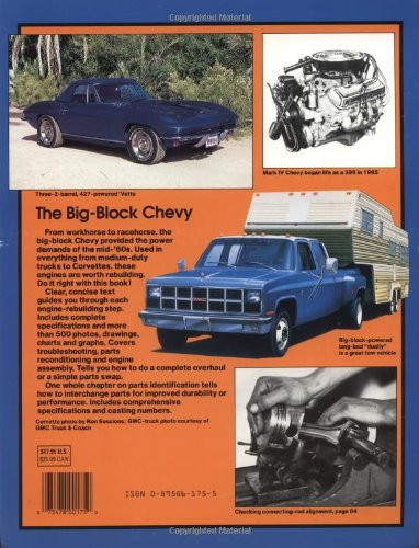 How to Rebuild Big-Block Chevy Engines: Tom Wilson: 0075478001750