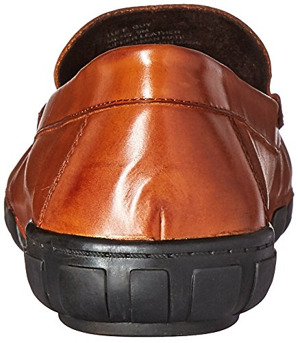Kenneth Cole New York Mens Tuff Guy Slip-On Loafer Cognac R4UQA