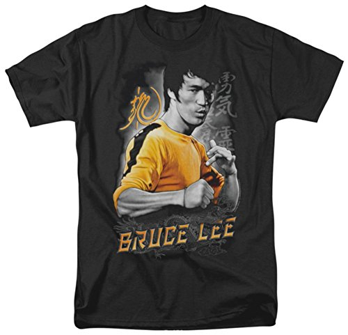 Bruce Lee - Yellow Dragon T-Shirt Size XL - Bruce Lee Dragon T-shirt
