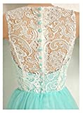 Yougao Womens Lace Long Evening Gowns Party Dresses Tulle Prom Homcoming Dress
