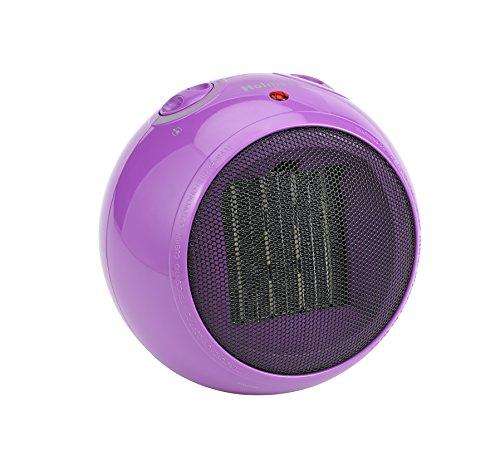 Holmes Globe Personal Ceramic Heater, Purple