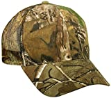 Realtree Adjustable Plastic Snap Closure Blank Mesh Back Cap, Realtree Xtra Camo