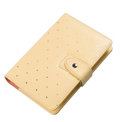 Labons 6 Anillas Agenda Broche Planificador Filofax Recargas Monthly Weekly Daily Schedule/2019 2020 Calendario/Teléfonos & Dirección/Personal Memo ...