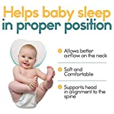 Ashtonbee Baby Head Shaping Pillow - Apple