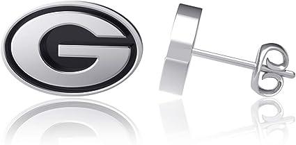 Dayna Designs Tennis Racket Dangle Earrings Sterling Silver Jewelry Small for Women//Girls