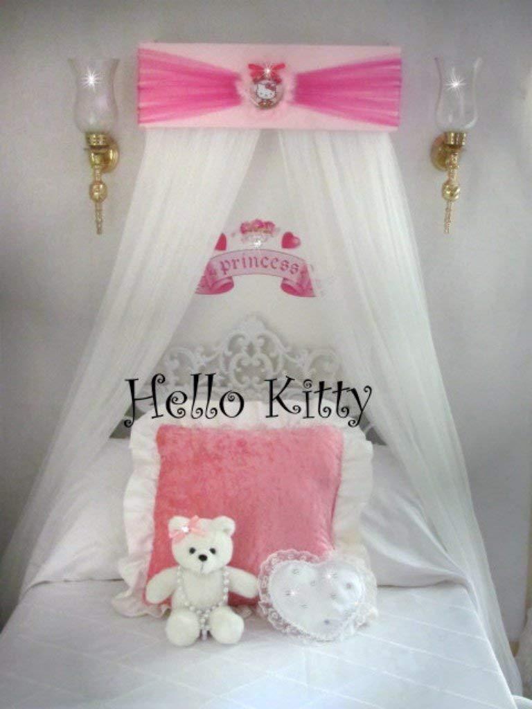 - Amazon.com: Hello Kitty Disney Princess Bed Canopy For Bedroom