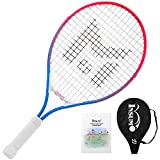 "Insum Junior Tennis Racquet 21"" Beginner Kids Starter(Ages 5-6) with Shoulder Strap Cover"