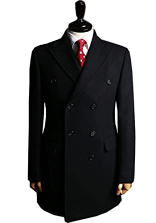 Ma Men's 100% Men Cashmere Coats for Men topcoat at Amazon Men's ...