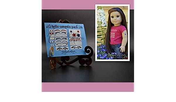Hello Summer American Girl Doll Removable Makeup Accessories