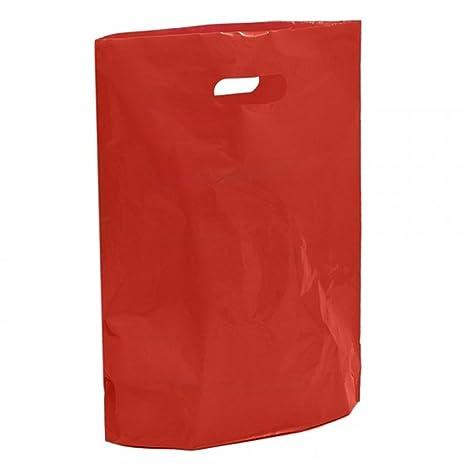 Bolsas de transporte de plástico rojo - 38 x 45 x 7,62 cm ...