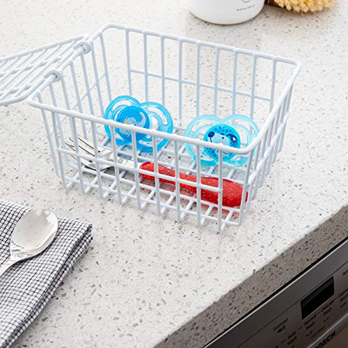 White Dishwasher Basket by Bette...