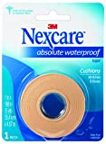 Nexcare Absolute Waterproof First Aid Tape, 1-Inch x 5-Yard Roll (Pack of 6), Health Care Stuffs