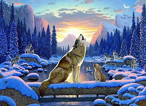 wolf 1000 piece puzzle - 3