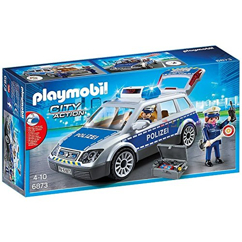 PLAYMOBIL® 6873 German Police Car with flashing lights