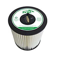 ZVac 8106-01 Central Vacuum Filter for Vacuflo, Dirt Devil, Titan, Vroom & Royal Central Vac Systems ZVac8106