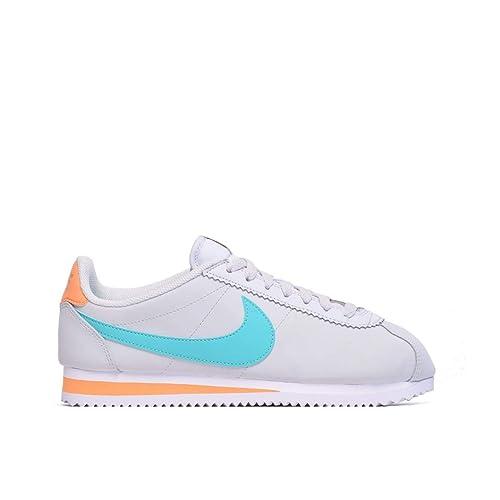 Nike Wmns Classic Cortez Leather, Zapatillas de Deporte para Mujer: Amazon.es: Zapatos y complementos