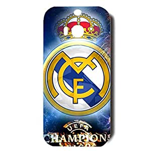 Fashion Fireworks Style Real Madrid Football Club Phone Case Creative Cover for Htc One M8