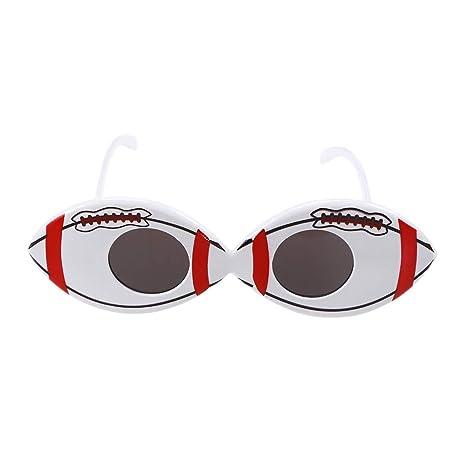 EMILF Home Gafas de Sol con Forma de fútbol Gafas con Forma ...