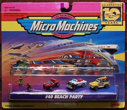 1951 Ford Sedan - Micro Machines Beach Party #40 Collection