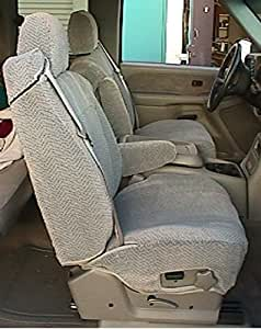 Amazon Com Durafit Seat Covers C1091 Gray Chevy Truck