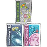 Belgium 2088-2090 (Complete.Issue.) 1982 Science (Stamps for Collectors) Space
