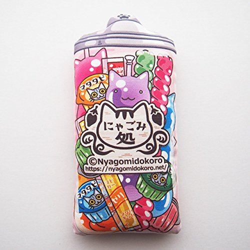 Retro Jello Cat Toys with silvervine, Unique Cat Toy, Japanese Dagashi Kicker Pillow, Cat toy Kick Stick, Cat Gifts, Handmade Cat Toys