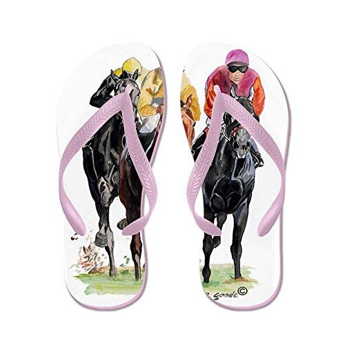 CafePress Trioorgfix.jpg - Flip Flops, Funny Thong Sandals, Beach Sandals Pink
