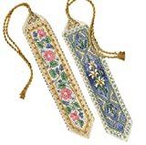 #6: Dimensions Needlecrafts Counted Cross Stitch, Elegant Bookmarks
