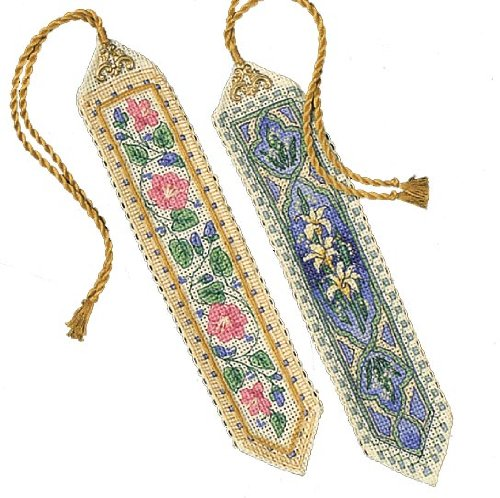 Gold Collection Bookmarks Counted Cross Stitch Kit-9 Long Se