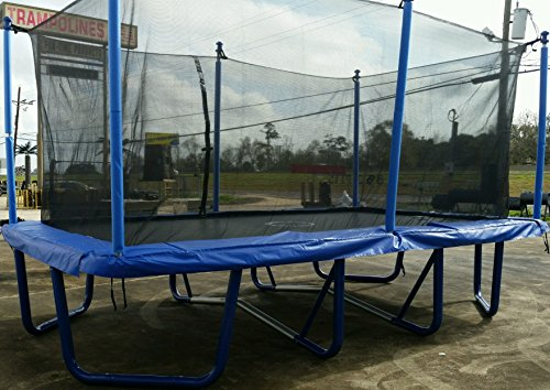 9'X16' Airmaster Rectangle Trampoline and Enclosure Combo