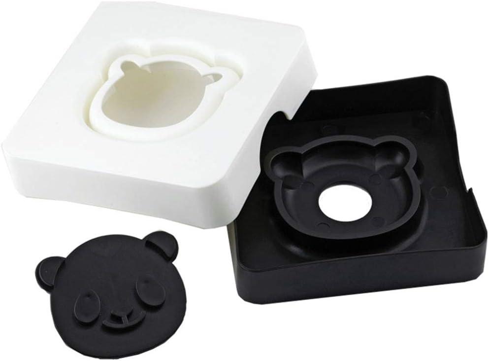 MXY Sandwich Maker Cute Panda Pocket Bread Mold DIY Sandwich Cutter Toast Mould Cookie Stamp Kit Food Deco (Panda)