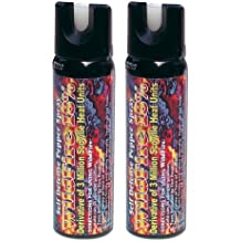 Wildfire Pepper Spray 4 oz Bundle - Lot of (2) Units - Wildfire 4 oz Fogger Spray Canister (x2)