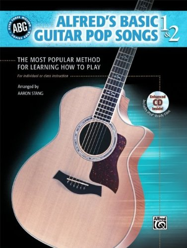 - Alfred Basic Guitar Pop Songs 1 and 2 (Book/CD)