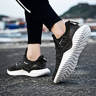 XIDISO Mens Running Shoes Breathable Fashion Sneakers Lightweight Athletic Walking Sport Shoe for Men