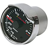 Bottari 51955 Manómetro Presión Turbo, 6 cm