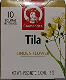 Carmencita Linden Flower Tea (10 Tea Bags) Te de Tilo from Spain