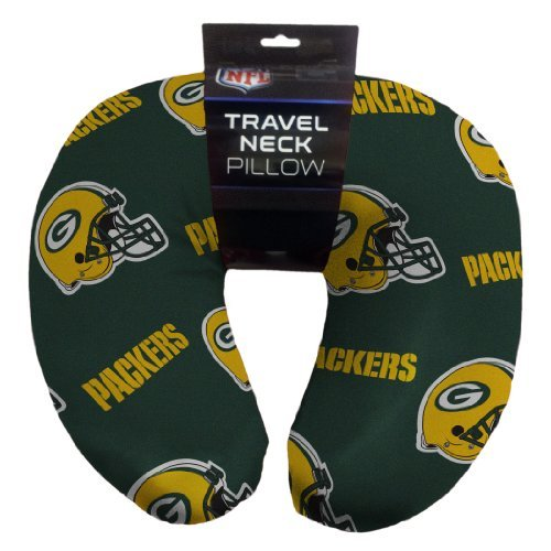 Northwest 117 NFL Green Bay Packers Beaded Spandex Neck Pillow
