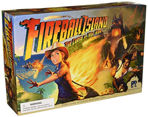 Restoration Fireball Island: The Curse of Vul Kar