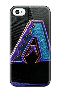 Durable Protector Case Cover With Arizona Diamondbacks Hot Design For Iphone 4/4s